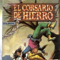 Cómics: TEBEO EL CORSARIO DE HIERRO, Nº 13, EDICIONES B. GRUPO ZETA, EDICIÓN HISTÓRICA. Lote 32933059