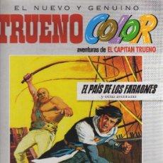 Cómics: EL NUEVO Y GENUINO TRUENO COLOR Nº3: EL PAÍS DE LOS FARAONES Y + AVENTURAS (MORA-AMBRÓS) EDICIONES B. Lote 33515682