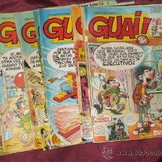 Cómics: LOTE DE 10 TEBEOS GUAI DEL 1 AL 10. Lote 32966491