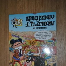 Cómics: MORTADELO Y FILEMON.Nº93.LOS SUPERPODERES.COLECCION OLE.(2ª ED-2000). Lote 33097959