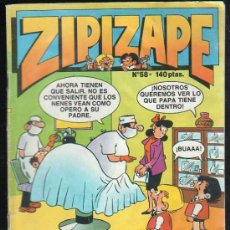 Cómics: ZIPI ZAPE. Nº 58. ABRIL 1988. Lote 33477624