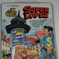 Cómics: SUPER LOPEZ NUMERO 20 , 1ª EDICION JULIO DE 1993 . COMIC A COLOR .. Lote 33622302