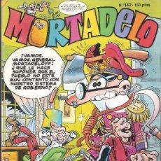 Cómics: MORTADELO. EDICIONES B. Nº 142. 1987.. Lote 33734390