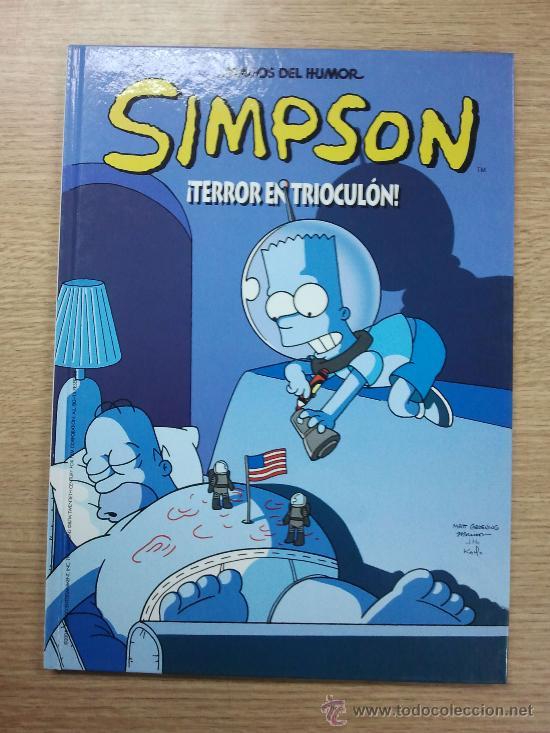 SIMPSON TERROR EN TRIOCULON (MAGOS DEL HUMOR #5) CARTONE (Tebeos y Comics - Ediciones B - Humor)