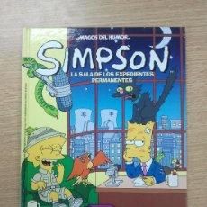 Cómics: SIMPSON LA SALA DE LOS EXPEDIENTES PERMANENTES (MAGOS DEL HUMOR #24) CARTONE. Lote 33744412