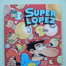 Cómics: COLECCION OLE 12 SUPERLOPEZ SUPER LOPEZ - PRIMERA 1ª EDICION - JAN COMIC DE EDICIONES B. Lote 33997875