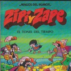 Cómics: MAGOS DEL HUMOR ZIPI Y ZAPE EL TONEL DEL TIEMPO EDICIONES B BARCELONA PRIMERA EDICIÓN 1990 . Lote 34032343