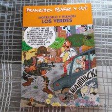 Cómics: FRANCISCO IBAÑEZ Y OLE, MORTADELO Y FILEMON LOS VERDES. Lote 34228475