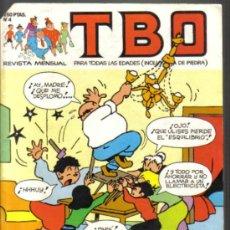 Comics : TBO Nº 4 EDICIONES B 1988. LITERACOMIC.. Lote 34405556