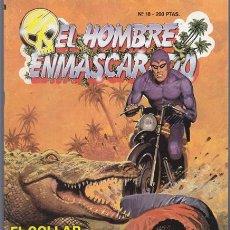 Cómics: EL HOMBRE ENMASCARADO 18, EL COLLAR DE LOS WAMBESI – EDICION HISTORICA EDICIONES B PHANTOM SY BARRY. Lote 34544709