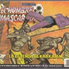 Cómics: EL HOMBRE ENMASCARADO 34, LA LEYENDA DE KRAKATAN – EDICION HISTORICA EDICIONES B THE PHANTOM SY BARR. Lote 34544788