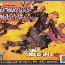 Cómics: EL HOMBRE ENMASCARADO 42, LA LEY DEL DESIERTO – EDICION HISTORICA EDICIONES B THE PHANTOM SY BARRY L. Lote 34544814