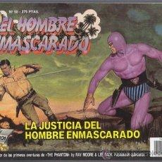 Cómics: EL HOMBRE ENMASCARADO 50, LA JUSTICIA DEL HOMBRE ENMASCARADO – EDICION HISTORICA EDICIONES B PHANTOM. Lote 34544833