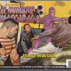 Cómics: EL HOMBRE ENMASCARADO 52, FEROZ INVASION – EDICION HISTORICA EDICIONES B PHANTOM SY BARRY LEE FALK B. Lote 34544843