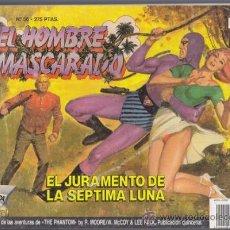 Cómics: EL HOMBRE ENMASCARADO 56, EL JURAMENTO DE LA SEPTIMA LUNA – EDICION HISTORICA EDICIONES B PHANTOM SY. Lote 34544857