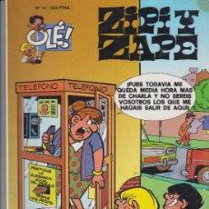 Cómics: COMIC OLÉ! ZIPI Y ZAPE Nº 14 ( ESCOBAR ) FORMATO GRANDE 1997. Lote 271705413