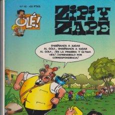 Cómics: COMIC OLÉ! ZIPI Y ZAPE Nº 46 ( ESCOBAR ) FORMATO GRANDE 1997. Lote 34637805