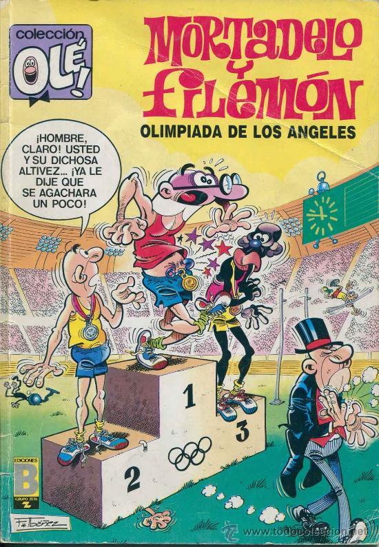 COMIC - TBO - COLECCIONE OLE - MORTADELO Y FILEMON - OLIMPIADA EN LOS ANGELES (Tebeos y Comics - Ediciones B - Clásicos Españoles)