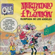 Cómics: COMIC - TBO - COLECCIONE OLE - MORTADELO Y FILEMON - OLIMPIADA EN LOS ANGELES. Lote 35220684