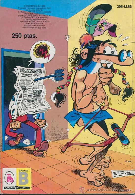 Cómics: Comic - tbo - coleccione Ole - Mortadelo y Filemon - olimpiada en los angeles - Foto 2 - 35220684
