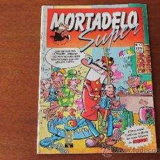 Cómics: SUPER MORTADELO Nº 13, ED.B CON BILLETES DE MORTADELO, FELICIANO Y SPORTY. Lote 35543407