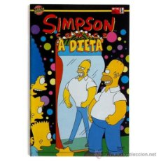 Cómics: SIMPSON CÓMICS ¡A DIETA! #18 / MILHOUSE #1 - BONGO/ED. B 1996. Lote 35538654