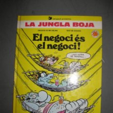 Cómics: LA JUNGLA BOJA. EL NEGOCI ES EL NEGOCI! MIC DELINX-GODARD.ED.B. 1ªED. 1990.. Lote 35633664