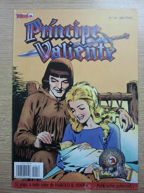 PRINCIPE VALIENTE EDICION HISTORICA #18 (TEBEOS SA) (Tebeos y Comics - Ediciones B - Otros)