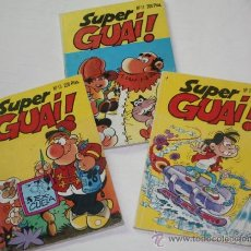 Cómics: SUPER GUAI : TOMOS Nº2 + Nº13 + Nº17. Lote 36162968