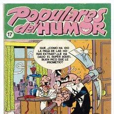 Cómics: POPULARES DEL HUMOR - Nº 17 - EDICIONES B - 1987. Lote 36247785