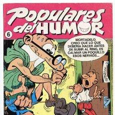 Cómics: POPULARES DEL HUMOR - Nº 6 - EDICIONES B - 1987. Lote 36247806