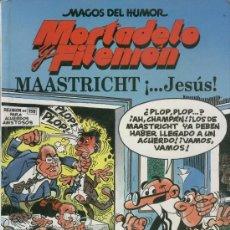 Cómics: TOMO MORTADELO Y FILEMON- MAASTRICHT, JESUS. Lote 36414673
