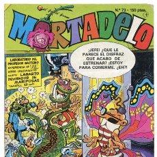 Fumetti: MORTADELO - Nº 73 - EDICIONES B - 1988. Lote 36578235