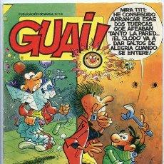 Fumetti: GUAI! - Nº 118 - TEBEOS S.A. - 1988. Lote 36808317