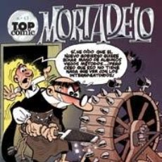 Cómics: OFERTA: MORTADELO: CONTRA EL GANG DEL CHICHARRON (TOP COMIC Nº 43) 30% DESCUENTO. Lote 36922366