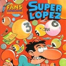 Cómics: TEBEOS-COMICS GOYO - SUPERLOPEZ - FANS - Nº 12 - 1ª EDICION *AA99. Lote 36954704