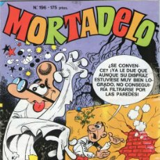 Cómics: MORTADELO - Nº 196 - EDICIONES B - AÑO 1991.. Lote 37199609