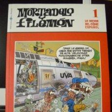 Cómics: MORTADELO Y FILEMÓN. LO MEJOR DEL CÓMIC ESPAÑOL, Nº 1. EL MUNDO, 2006. ¡NUEVO!. Lote 37418156