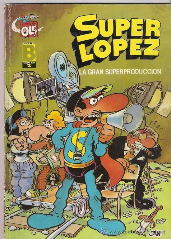 SUPERLÓPEZ. EDICIONES B. 3 EDICIÓN. Nº 9 (Tebeos y Comics - Ediciones B - Humor)