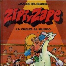 Cómics: MAGOS DEL HUMOR : ZIPI Y ZAPE LA VUELTA AL MUNDO (1990) 1ª EDICIÓN 1ª REIMPRESIÓN. Lote 37620486