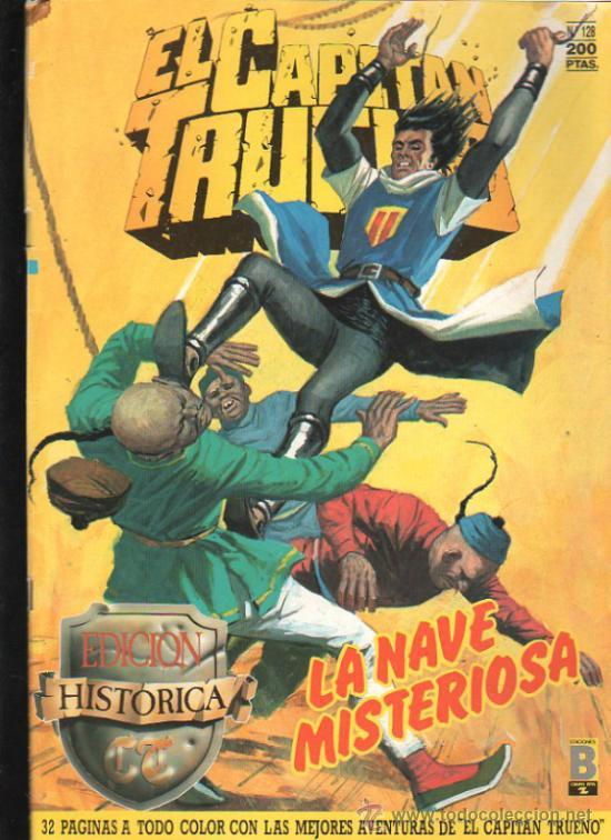 EL CAPITAN TRUENO. Nº 128. EDICIONES B, GRUPO Z. (Tebeos y Comics - Ediciones B - Otros)