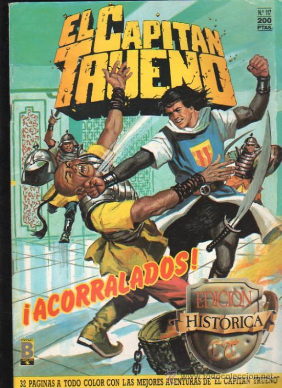 EL CAPITAN TRUENO. Nº 117. EDICIONES B, GRUPO Z. (Tebeos y Comics - Ediciones B - Otros)