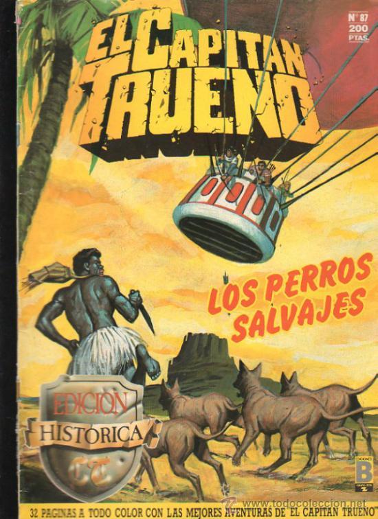 EL CAPITAN TRUENO. Nº 87. EDICIONES B, GRUPO Z. (Tebeos y Comics - Ediciones B - Otros)
