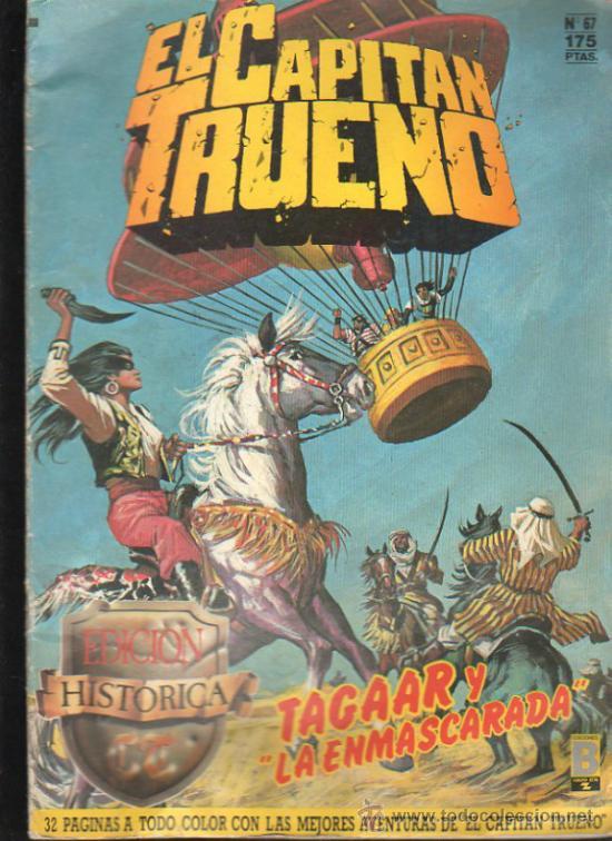 EL CAPITAN TRUENO. Nº 67. EDICIONES B, GRUPO Z. (Tebeos y Comics - Ediciones B - Otros)