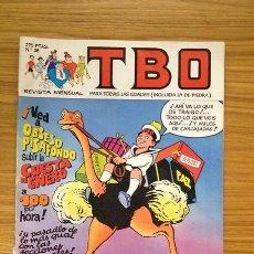 Cómics: TBO Nº 36 EDICIONES B 1988. Lote 37964078