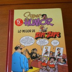 Cómics: SUPER HUMOR Nº 14: LO MEJOR DE ZIPI Y ZAPE, SELECCIÓN DE LAS MEJORES AVENTURAS, EVOLUCIÓN E HISTORIA. Lote 194973301