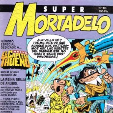 Cómics: SUPER MORTADELO N0 83 - ESPECIAL DEDICADO A EL CAPITAN TRUENO - EDICIONES B. Lote 39619075