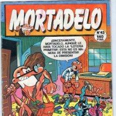 Cómics: MORTADELO - Nº 43 - CON BILLETES MORTADELO - EDICIONES B - AÑO 1988.. Lote 38345744