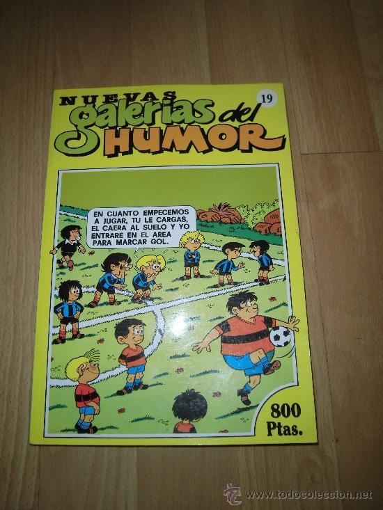 NUEVAS GALERIAS DEL HUMOR Nº 19 (Tebeos y Comics - Ediciones B - Humor)