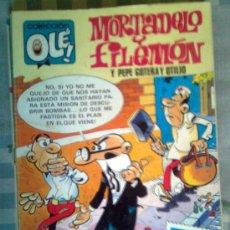 Comics : OLÉ-MORTADELO- Nº 280- M52- 2ª EDICIÓN-1987-EDICIONES B-CON PEPE GOTERA-0356. Lote 38577785